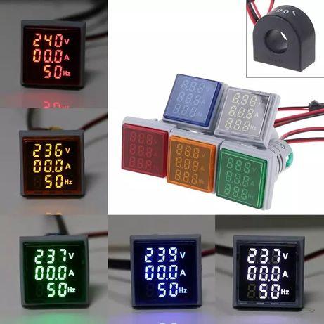 Цифров волтметър амперметър