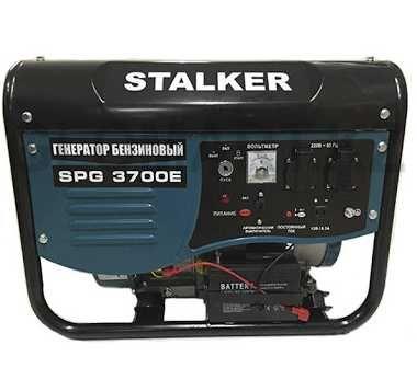 Бензиновый генератор STALKER SPG 3700E