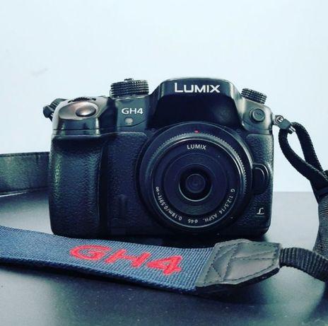 Panasonic GH4 + 14mm 2.5f 4K фотоаппарат
