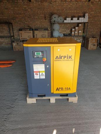 Винтовой компрессор APB-10A, -1,1 куб.м, 7,5кВт, AirPIK