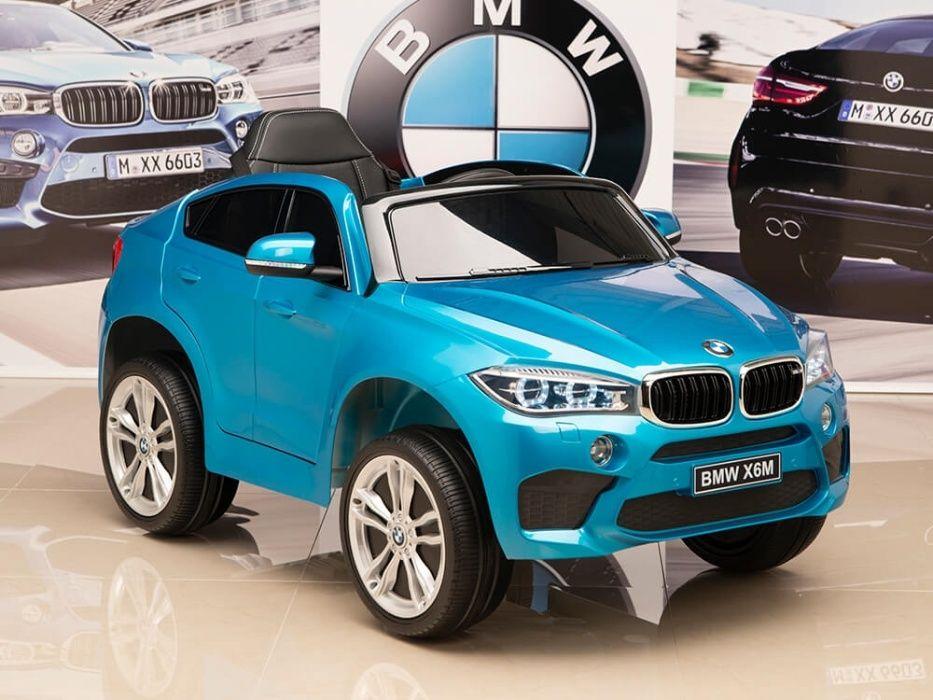 Kinderauto BMW X6M 2x35W STANDARD #Blue