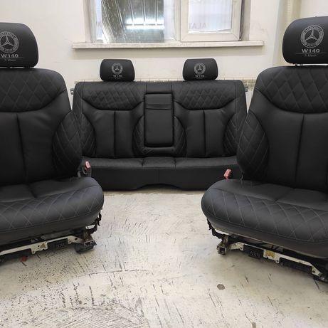 Продам сидений для авто с оригинальной эко-кожи на w140. Алматы