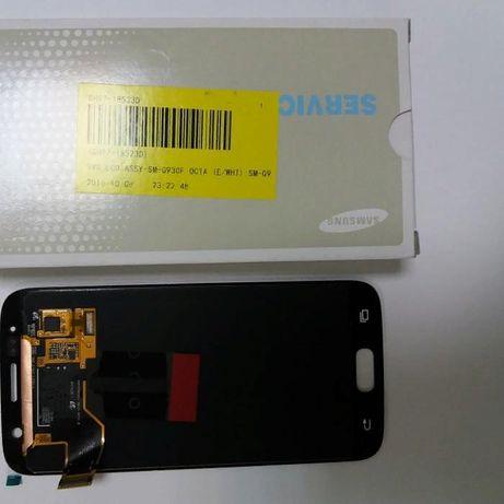 Display Samsung S7 original AMOLED Montaj pe loc factura garanție 6 lu
