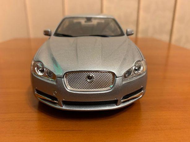 Macheta auto Jaguar XF, 1/24, Welly