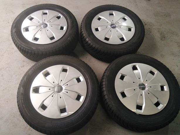 Roti iarna audi vw 5x112 r16 cu anvelope iarna Bridgestone 205 60 r16