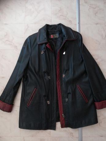 Дамско кожено палто на Luter