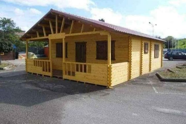 Vând case cabane din lemn