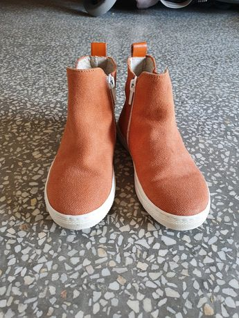 Есенно-пролетни обувки,естествена кожа