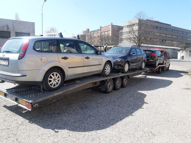 Transportor auto pe platformă Germania/ Austria  / România