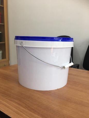 Продаем белые пластиковые ведра 11 литр