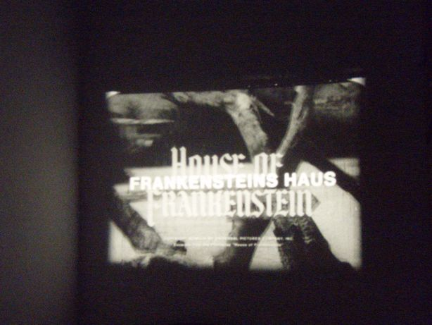 House of the Frankenstein alb/negru, rola film Super 8mm
