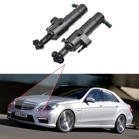Пръскалка Mercedes W212 E чистачка дюзи мерцедeс пръскалки фарове