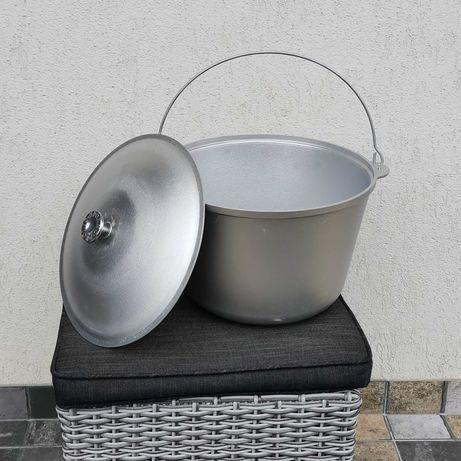 Ceaun cu capac 10 L aluminiu import Ucraina