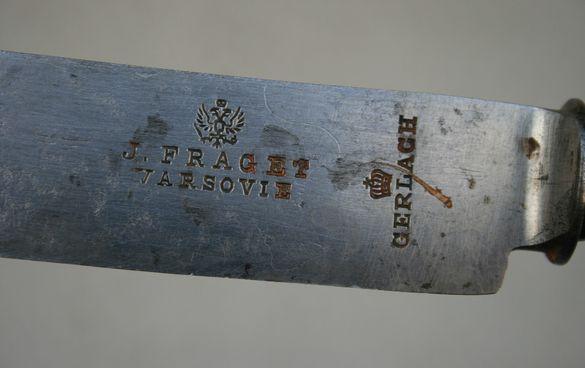 нож J Fraget Варшава, Руска империя, прибори