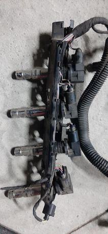 Set bobine inductie+cablaj Skoda Rapid 1.4 tsi cax