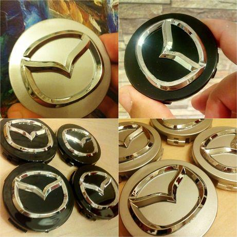Mazda - set 4 capace pentru jante de aliaj