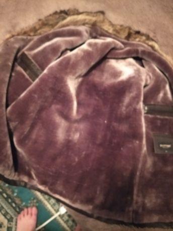 Продам зимнюю кожаную куртку мужскую