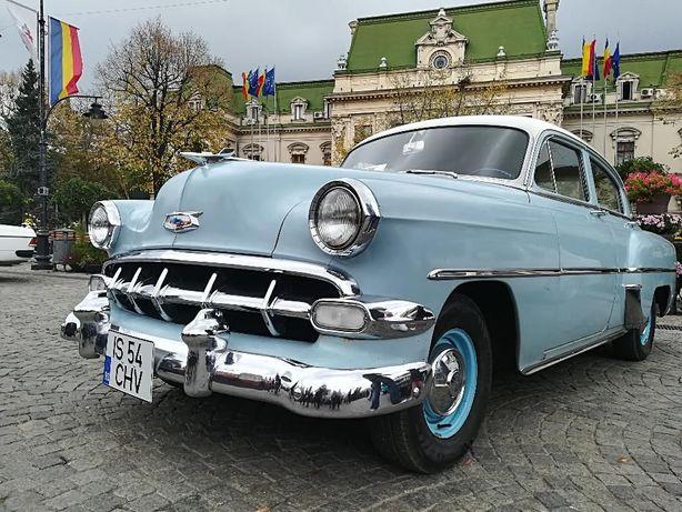 Autovehicul epoca Chevi 210 bel air 1954
