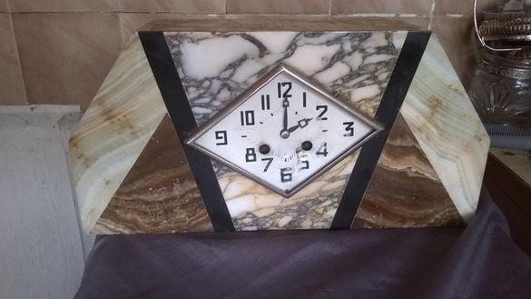 стар каминен часовник арт деко