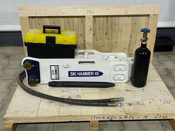 Picoane - Picon hidraulic SIK Hammer 45 pt. miniexcavatoare