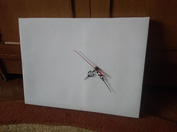 Panza pictura cu ceas incorporat