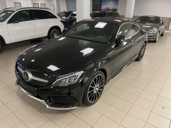 Mercedes, C 250 D, AMG Coupe, 2017