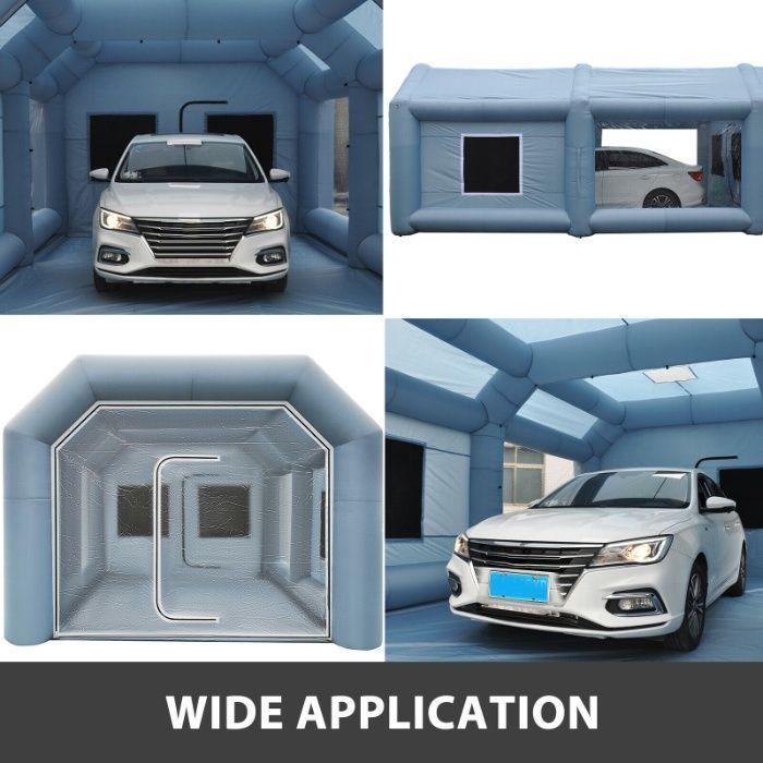 Cabina Auto mobila de vopsit 10x5x3,5m gonflabila ventilatoare filtre