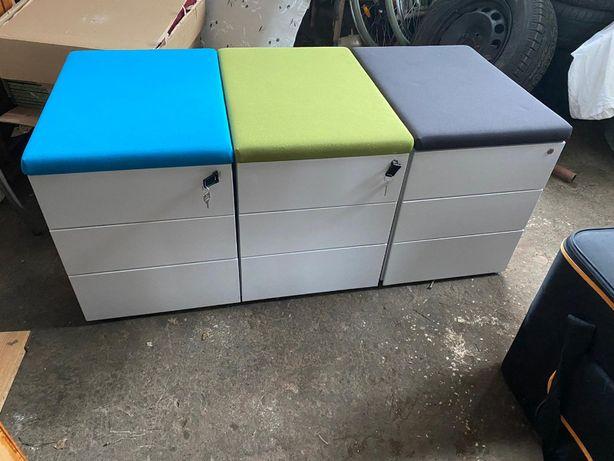 Roll Box - diver culori - cu sertare - fier + material