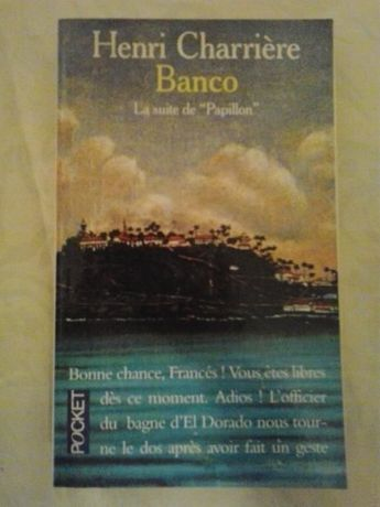 Carte in limba franceza - Banco (Henri Charriere)