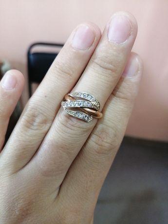 Золотое кольцо 585 проба Россия 16р 2гр