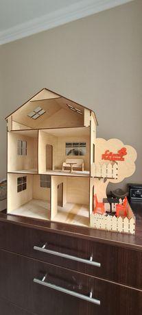 Домик деревянный для кукол