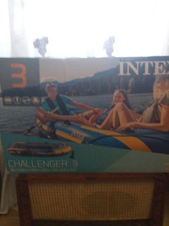 barca challenger intex 3 persoane noua