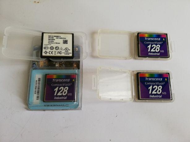 Card CF industrial CompactFlash UDMA5 128MB 1GB Transcend