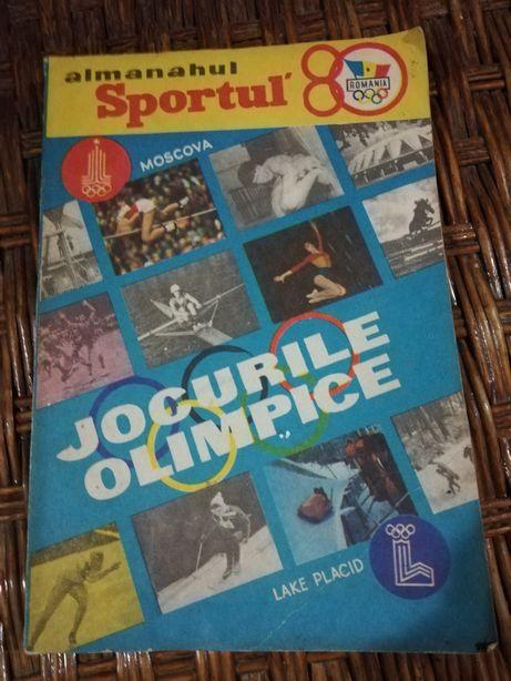 Almanahul sportul 1980 dedicat Jocurilor Olimpice Moscova