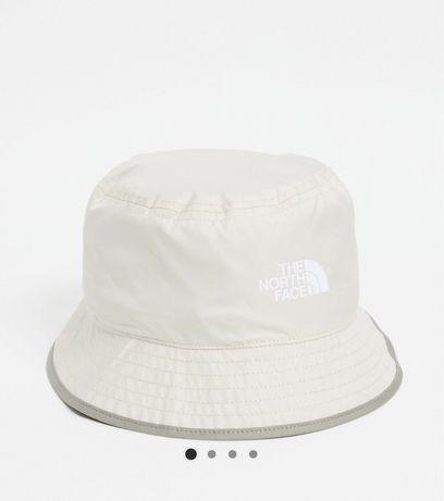 Palarie / bucket hat North Face, noua, impermeabila, crem