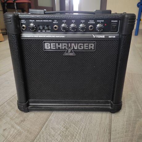 Продаю комбоусилитель Behringer V-Tone GM108