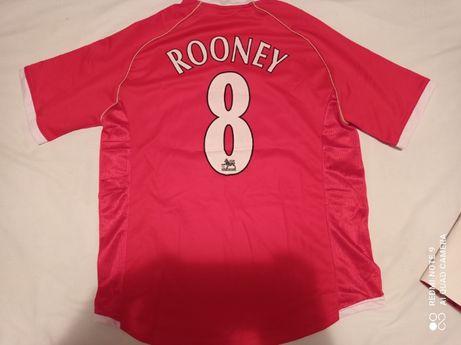 Tricou fotbal ROONEY 8 , nou !! Manchester United