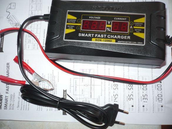 Импулсно зарядно 12V за акумулатор