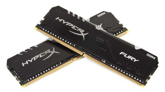 Оперативная память Kingston HyperX Fury DDR4 8Gb/3200MHz RGB