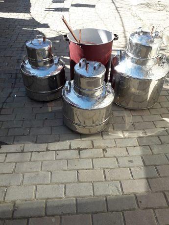 Cazan de tuica din inox la 80 de litri