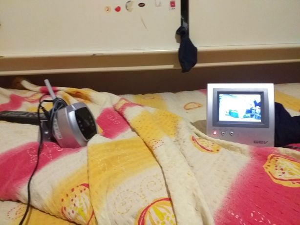 Camera supraveghere copil cu sunet (home baby monitor)