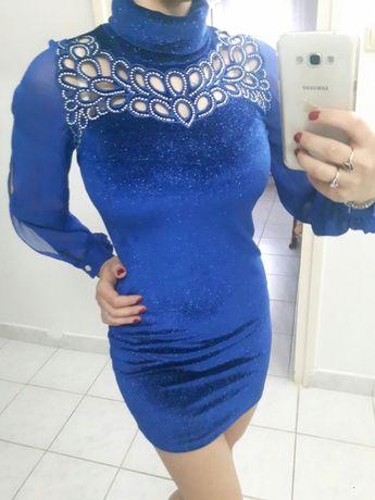 Rochie scurta albastra