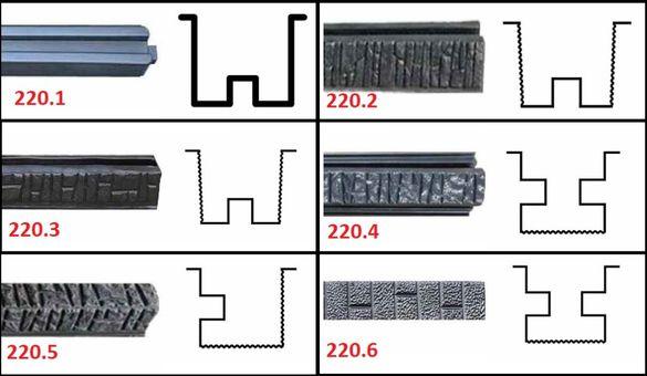Калъпи от АБС / ABS на стълбове, основи и капаци за огради
