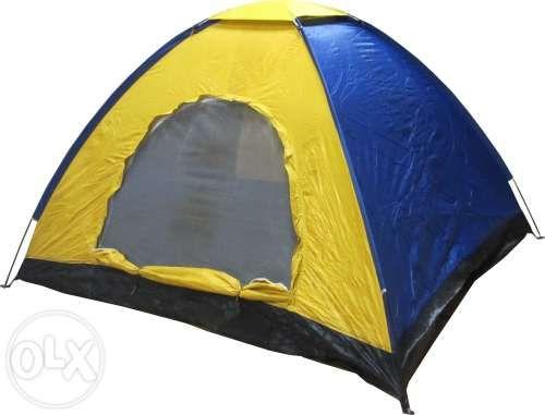 Палатка триместна (двуслойна) (600107) 190x190x130см