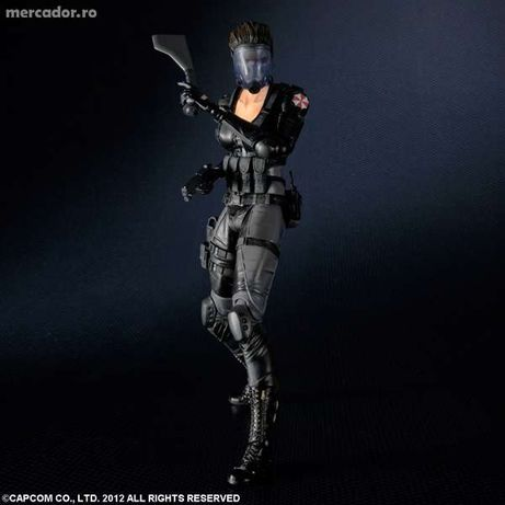 Square Enix Play Arts Kai Resident Evil Operation Raccoon City Lupo