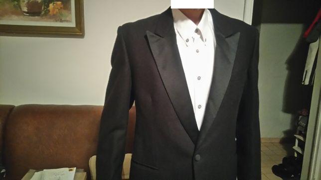 Costum Smoking negru elegant, din lana,marime 50-52