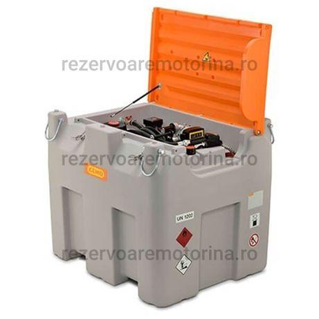 Rezervor transportabil 980L ADR cu pompa 85L/min