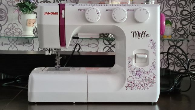 Продам новую швейную машинку JANOME Milla