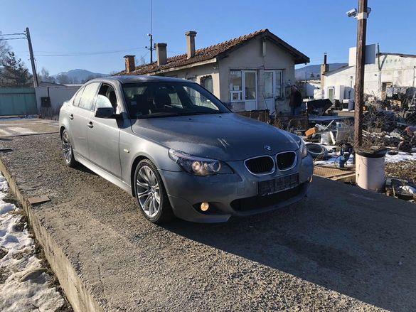 БМВ Е60, 520д, 177кс, М СПОРТ НА ЧАСТИ (BMW E60, 520D, 177hp LCI)