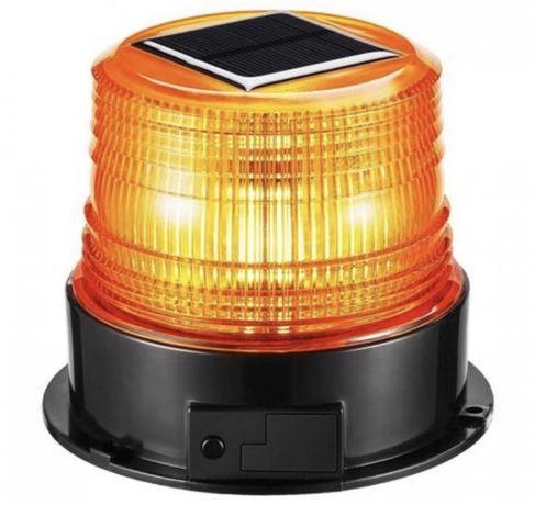 Диодна соларна сигнална лампа-маяк 2475 ...